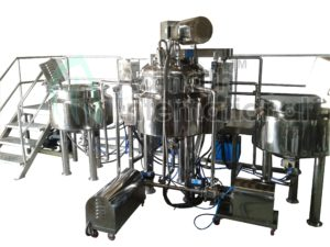 Toothpaste and Gel Production Plant