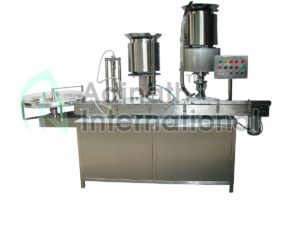Vial Filling and Capping Machine